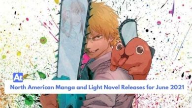 North American Manga and Light Novel Releases for June 2021