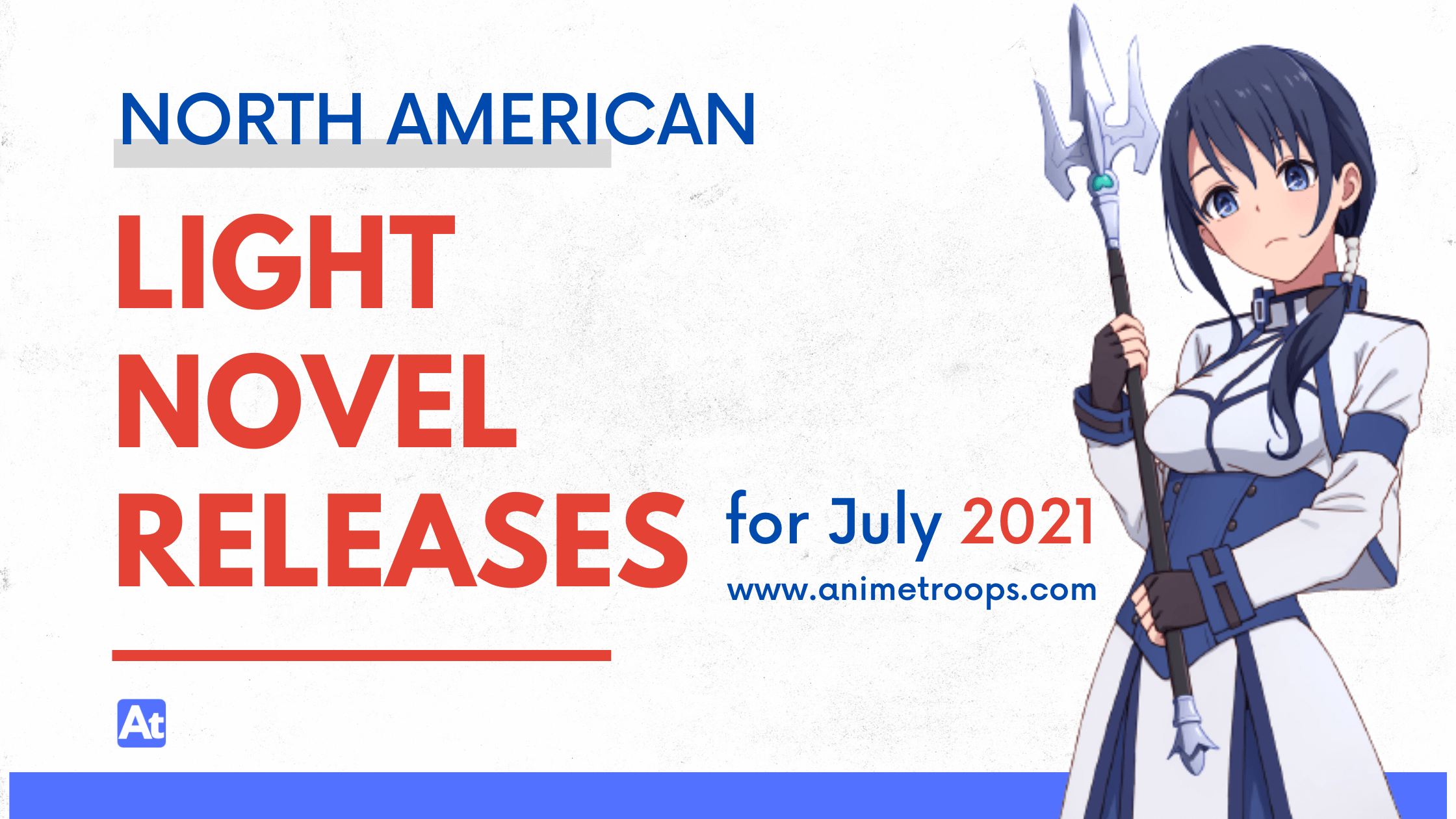 North American Light Novel Releases for July 2021