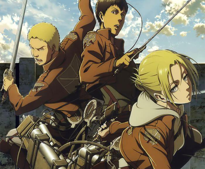 Top 10 anime betrayals: Annie, Reiner & Bertholdt betrayed The 104th Cadet Corps (Attack on Titan)